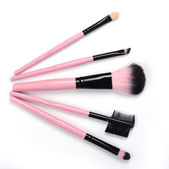 Set brush makeup — Stock Photo