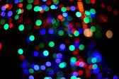 Abstract circular bokeh background of Christmaslight — Stock Photo