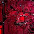 Circuit board background — Foto Stock