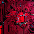Circuit board background — Stock fotografie