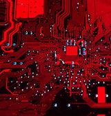 回路基板の背景 — ストック写真