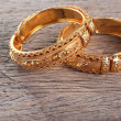 Golden bracelets — Stock Photo #37775979