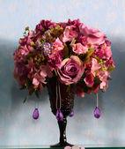 Sfondo di rose colorate — Foto Stock