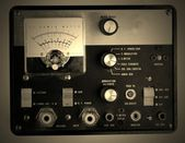 Vintage Old Multimeter, tester isolated — Stock Photo