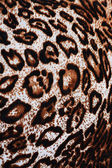 The fabric of motifs leopard on background — Stock Photo