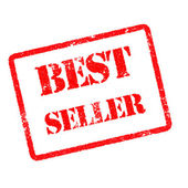 Best seller rubber stamp — Stock Photo