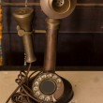 Retro Phone - Vintage Telephone — Stock Photo #43555037