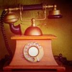 Retro Phone - Vintage Telephone — Stock Photo #43556963
