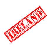 Ireland Rubber Stamp — Stockfoto