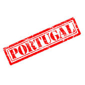 Portugal rubber stamp — Stock Photo