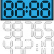 Digital clock — Foto Stock #32109757