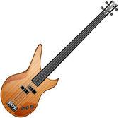 Bass guitar — Stock Vector