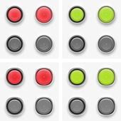 Button — Vector de stock