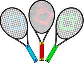 Table tennis — Stock Vector