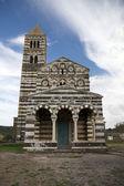 Santissima Trinita di Saccargia, Sardinia, Italy — Stock Photo