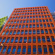 Central Saint Giles is a mixed-use development in central London, designed by Renzo Piano — Stock Photo