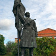 Red Army soldier statue, Memento Park — Stock Photo #24272227