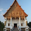 Wat That Luang Neua is a Buddhist temple to close great golden stupa in the centre of Vientiane, Laos — Stock Photo #24273377