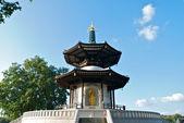Peace Pagoda, Battersea Park, London — Stock Photo