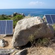 Solar panels on the coast — Stock Photo #29220167