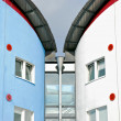 Detail of University of East London residence halls. — Stock Photo #30645387