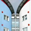 Detail of the University of East London residence halls. — Stock Photo #30645387