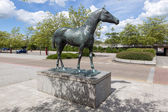Black Horse, 1978. Elisabeth Frink — Stock Photo