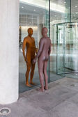 Reflection by Antony Gormley — Stockfoto