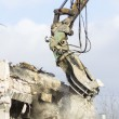 Stock Photo: Building demolition