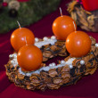 Advent wreath — Stock Photo #36936487