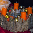 Advent wreath — Stock Photo #36936511