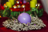 Advent wreath — Stock Photo