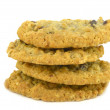 Stock Photo: Outmeal cookies with raisins