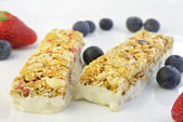 Granola Bars with Berries — Stock Photo