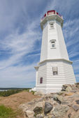 Louisbourg Lighthouse — Stock Photo