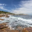 Stock Photo: Rocky Shoreline