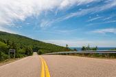 Cabot Trail Highway  (Cape Breton, Nova Scotia, Canada) — Stock Photo