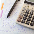 Stock Photo: Calculations and formulas