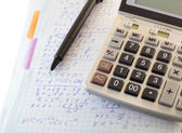 Calculations and formulas — Stock Photo
