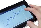 Tablet de internet — Foto Stock