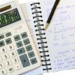Stock Photo: Financial and mathematical calculations