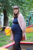 Gravid flicka — Stockfoto