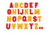 алфавит — Стоковое фото