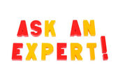 Ask an expert — Stock Photo