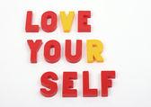 Love your self — Stock Photo