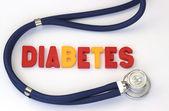 Diabetes — Stock Photo
