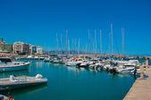Heraklion harbour. Crete, Greece — Stock Photo