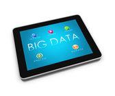 BIG DATA Tablet 2 — Stock Photo