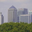 Stock Photo: London Docklands from Greenwich