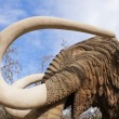 Mammoth sculpture — Stock Photo